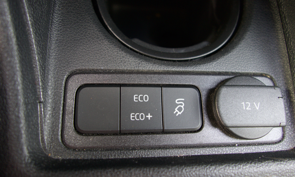 Seat Miin Eco-toiminto.